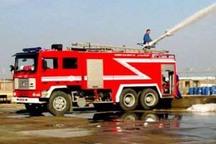 اطفاء 302 مورد آتش سوزی در بندرعباس