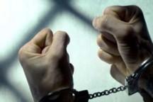 سارق خودروی وانت پیکان در سنندج دستگیر شد