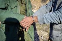 سه شکارچی متخلف در کاشان دستگیر شدند