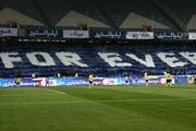 شعار هواداران استقلال علیه وزیر ورزش و مدیرعامل باشگاه در پی حذف از آسیا