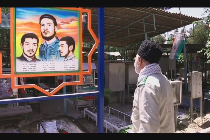 معرفی و مراسم تشییع مرحوم یوسف علی اسماعیلی پدر سه شهید و دو جانباز برومند