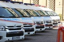 55 درصد ناوگان اورژانس همدان در دولت تدبیر و امید نوسازی شد
