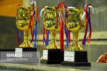 فینال مسابقات والیبال قهرمانی جوانان استان در ماکو