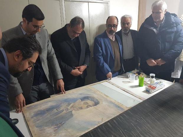 کارگاه مرمت آثار موزه هنرهای معاصر صنعتی کرمان افتتاح شد