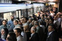 مسافر متروی تبریز در عید فطر ٤ برابر شد