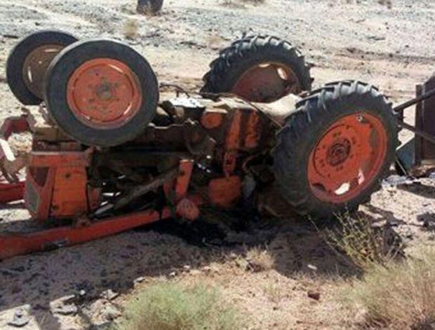 واژگونی تراکتور در اردبیل یک کشته و ۲ مصدوم برجای گذاشت