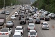 جاده های مازندران پر ترافیک شد