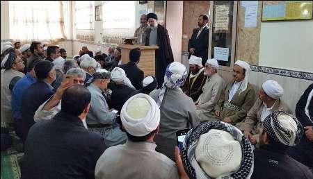 حجت الاسلام رئیسی با علما و روحانیون کردستان دیدار کرد