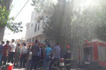 حریق واحد مسکونی در مشهد مهار شد