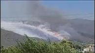 تصاویری از آتش سوزی در جزیره زاکینتوس یونان