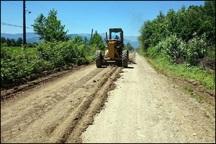 بهسازی راه چهار روستای آستارا آغاز شد