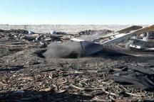 پنج حلقه چاه تولید زغال در نجف آباد تخریب شد