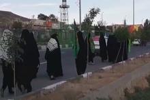 تصاویری از حرکت بیست و چهارمین حرکت حماسی کاروان پیاده امام علی (ع) تبریز