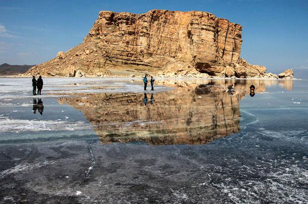پس از تشکیل ستاد احیا؛ مساحت دریاچه ارومیه سه برابر شد