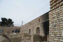بازسازی کاروانسرای ملک زاهدان در حال اجراست