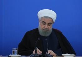 پیام تسلیت دکتر روحانی به استاندار چهارمحال و بختیاری