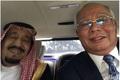 عکس/ سلفی نخست وزیر مالزی با پادشاه عربستان