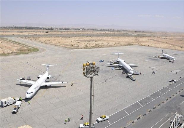 2 پرواز فرودگاه اهواز باطل شد