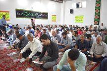 نوای دعای روحبخش عرفه در بهاباد طنین انداز شد