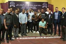 نفرات برتر مسابقات پرورش اندام آذربایجانشرقی مشخص شدند