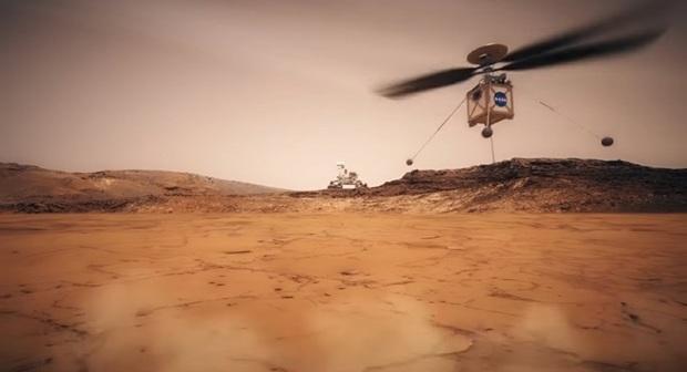 آنچه که درباره مریخ کوپتر 2 کیلویی باید بدانید