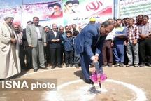 کلنگ زنی گازرسانی به ۲۸ روستای شهرستان پلدشت