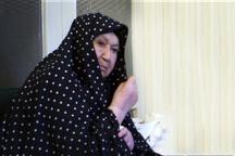 برخورد همسر امام در مواجهه با مهمانان