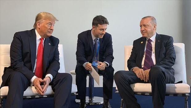دیدار اردوغان و ترامپ در لندن پشت درهای بسته