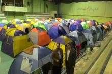 اسکان اضطراری 340 نفر توسط جمعیت هلال احمر هرمزگان