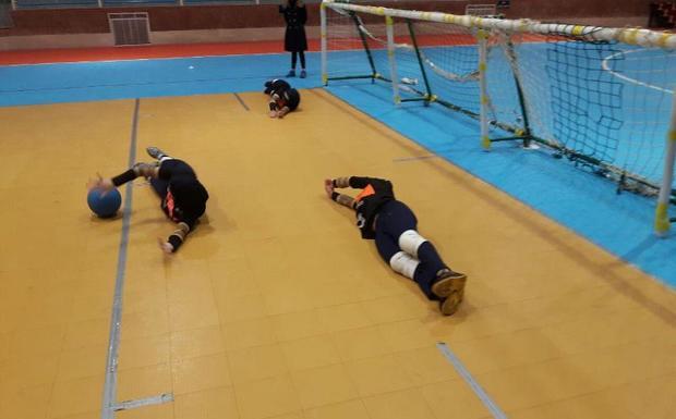 اردوی تیم ملی گلبال بانوان در قزوین جریان دارد