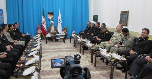 نیروهای مسلح برخاسته از مردم انقلابی ایران هستند