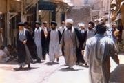علمای نجف چگونه از امام استقبال کردند؟