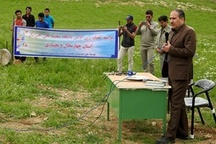 کلنگ ساخت نخستین پاسگاه محیط بانی خیرساز در استان به زمین خورد