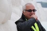 حضور هنرمندان سینما بر مزار علی معلم
