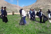 30 تن زباله در مناطق گردشگری باشت جمع آوری شد