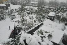 چندین روستای شهرستان آزادشهر در محاصره برف قرار دارد