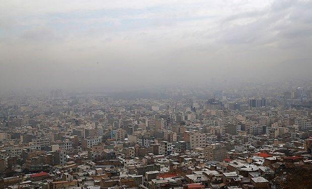 وارونگی هوا و افزایش آلاینده ها در البرز