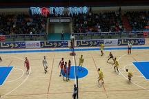 والیبال شهرداری تبریز مغلوب کاله مازندران شد