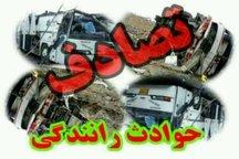 سوانح رانندگی در قزوین 2 کشته و 3 مجروح به جا گذاشت