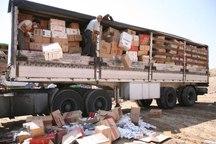 هشت میلیارد ریال لوازم الکترونیکی قاچاق در لرستان کشف شد