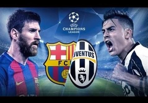 ترکیب اصلی تیمهای بارسلونا و یوونتوس مشخص شد