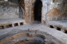 عملیات بازسازی حمام تاریخی پیرشهید شیروان آغاز شد