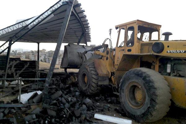 رفع تصرف بیش از ۲ هزار متر مربع از اراضی ملی استان مرکزی