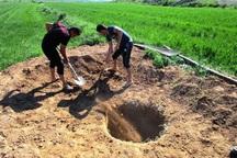 150 حلقه چاه غیرمجاز در مهاباد مسدود می شود