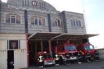 25 تیم عملیاتی آتش نشانی در سنندج آماده باش هستند