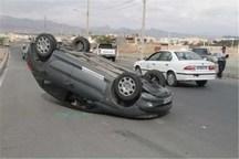 واژگونی خودرو سواری در سبزوار سه مصدوم داشت