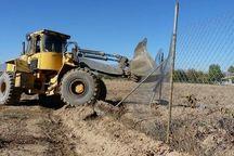 ۲۲ هزار مترمربع از اراضی ملی منطقه حفاظت شده هلن رفع تصرف شد