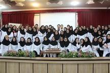 جشن تکلیف و مسئولیت پذیری دانشجویان پزشکی در قزوین برگزار شد