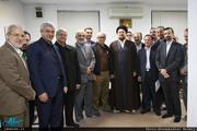 دیدار دست اندرکاران سمپوزیم بین المللی روابط عمومی با سید حسن خمینی