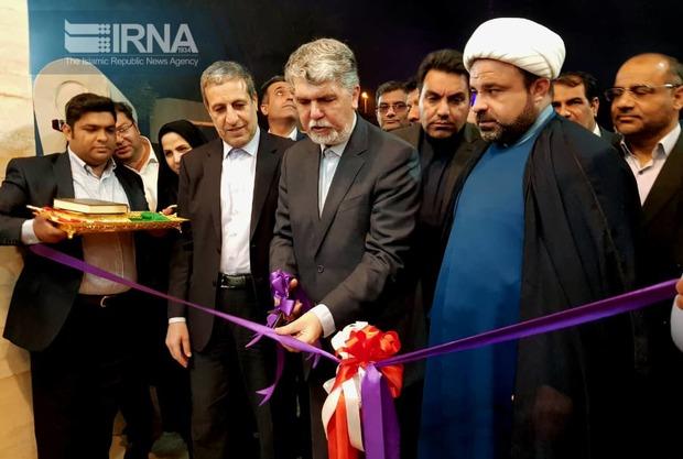 باحضور وزیرارشاد تالارچند منظوره لیان بوشهر افتتاح شد